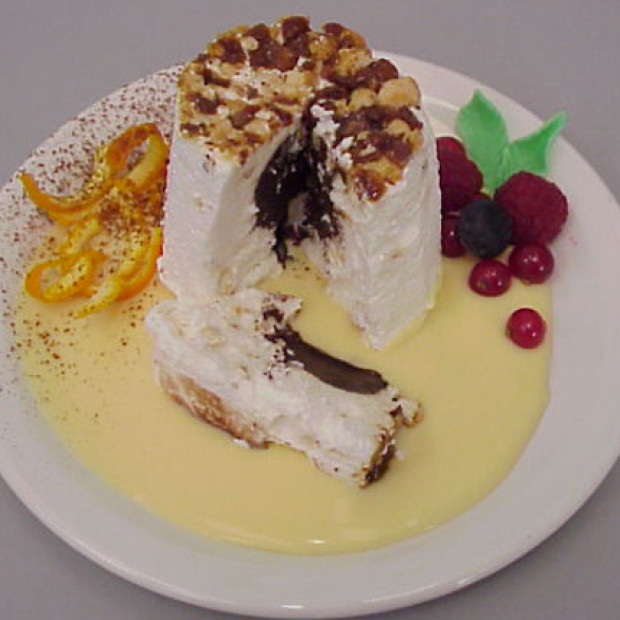 Semifreddo with Chocolate Filling