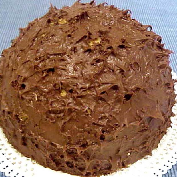 Chocolate Zuccotto Semifreddo