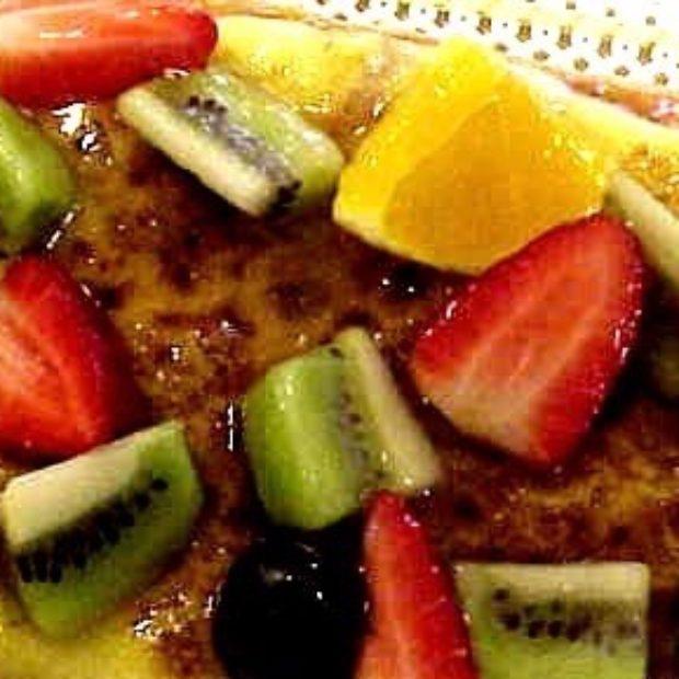 Gratin Fruits Cake