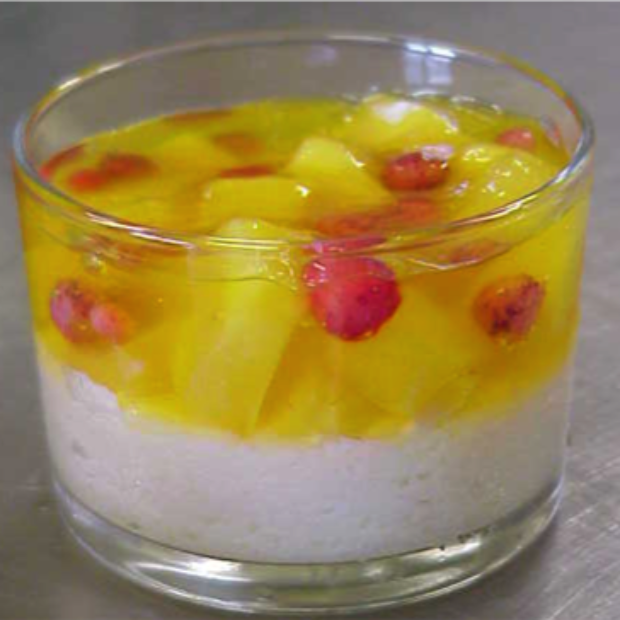 Verrine with Fruits Mousse