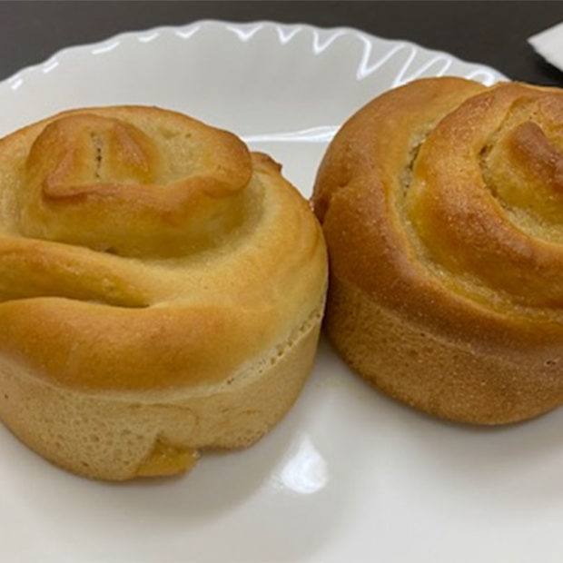 Filled brioche